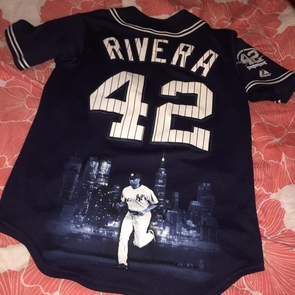 buy online 68364 e8547 NY Yankees 42 Rivera majestic Jersey